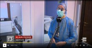 UVmastercare Liège - La décontamination par UV au JT de 13h sur RTBF La 1ère